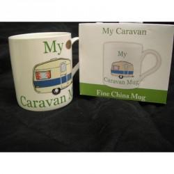 My Caravan Mug, Fine China