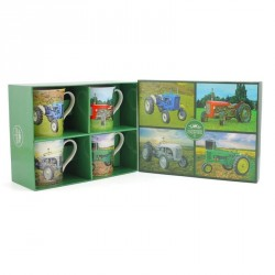 Novelty Mug set - Old Tractor Mugs in choice of 4 different designs