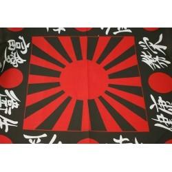 bandeira e caracteres japoneses design bandanas