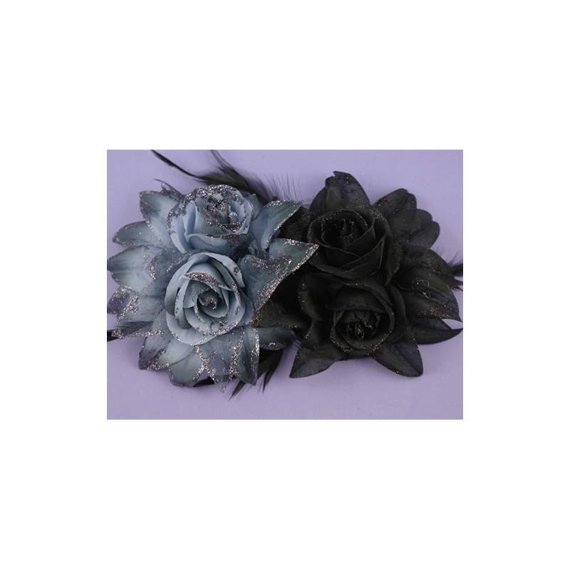 capelli assortiti fiore elastici