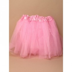 Tutu - Pink net child size Tutu with triple layered fancy dress up skirt