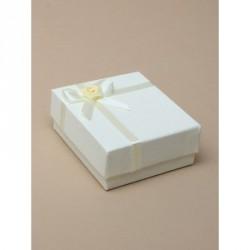 Gift box - Ivory Satin Ribbon Gift box.