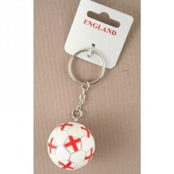 Keyring - George Cross/ England World Cup football keyring.