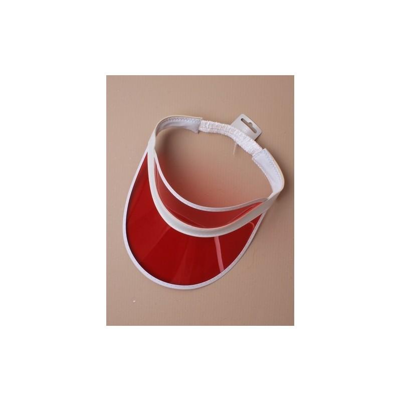 sun visor headband. In pink, red, green, blue, orange or yellow