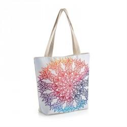 Bag - Beige multi colour...