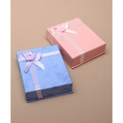 Gift box - Gift Box with satin ribbon detail. In Pink or...