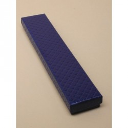 Gift Box - Navy quilted style 21x4x2cm gift box
