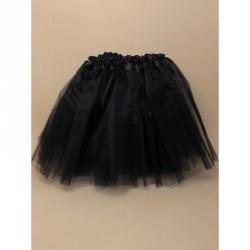 Tutu - Black net tutu with triple layered skirt Waistband...