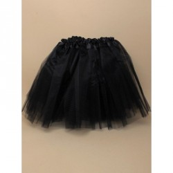 Tutu - Black net tutu with triple layered skirt Waistband approx 16-34in This item has been tested to EN71 Parts 1, 2 and 3