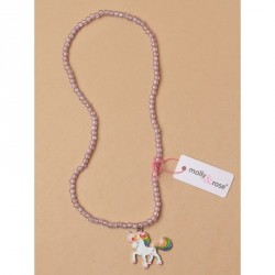Necklace - Unicorn pendant...
