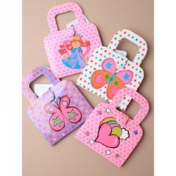 Notebook - Children's handbag style notebook In Princess,...