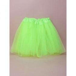Tutu - Green net child size Tutu with triple layered...