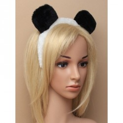 Headband - Fur fabric Panda ears alicebandThis item Complies to toy safety standard EN71 Parts 1, 2 and 3