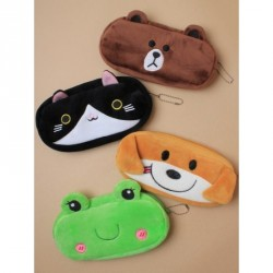 Pencil Case - in black cat,green frog,brown puppy or brown bear size:L20xH10xD25cm