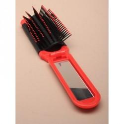 Hairbrush - Compact Mirrors - Folding compact hair brush...