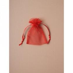 Organza Gift Bag - Size approx: 10 x 75cm Red organza...