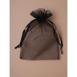 Organza Gift Bag - Size approx: 22 x 15cm Black organza...
