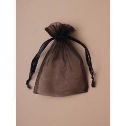 Organza Gift Bag - Size approx: 15 x 11cm Black organza...
