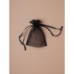 Organza Gift Bag - Size approx: 10 x 75cm Black organza...