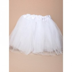 Tutu - White net child size Tutu with triple layered skirt Waistband approx 14-30in