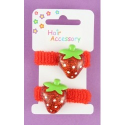 Strawberry motif ponios