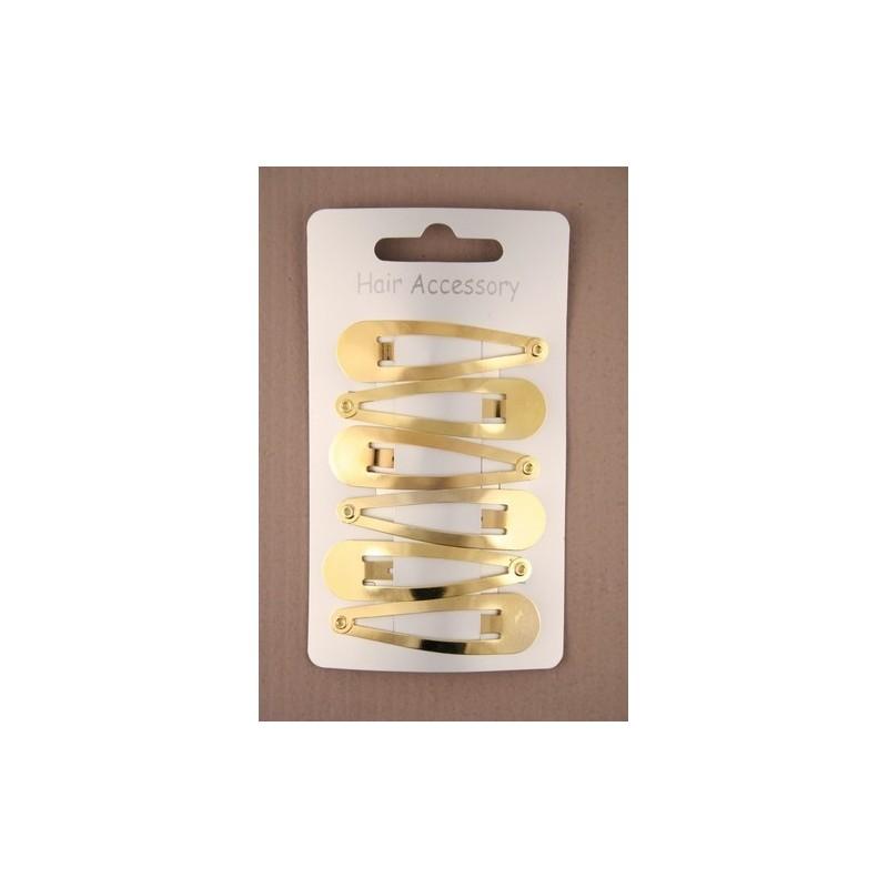 card of 6 gilt 5cm sleepies.