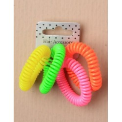 Tele-Phone Cord Hair Bobble...