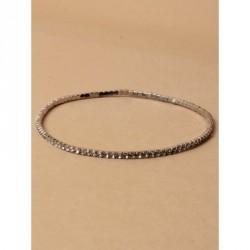 Anklet - Diamante crystal stretch anklet