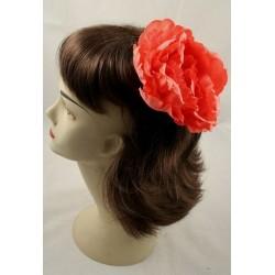 næb hår klip & broche pin - sætning blomst på kløvet næb hår grip dias i 6 farver