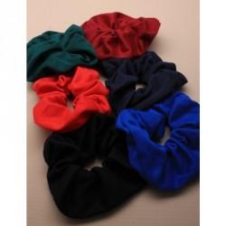 Hair Scrunchie - Jersey fabric scrunchie in School colours