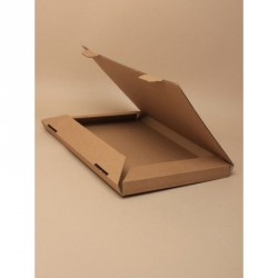 Packing Box - Made up Size : 28x20x2cm Natural brown card...