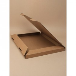 Made up Size : 325x23x2cm Natural brown card fold flat box This item comes flat packed Bubble wrap not included