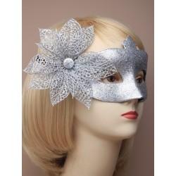 Masquerade mask - Silver...