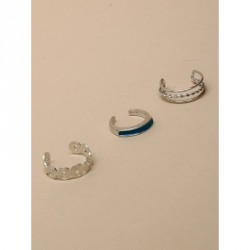 Toe Ring - Silv toe ring in 3 assorted styles Size...