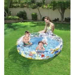 Bestway 60 x 12-inch Ocean Life Pool