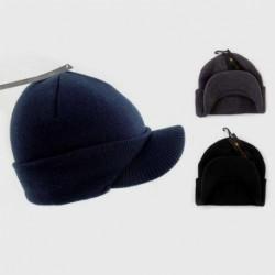 童帽帽子-针织峰值 beannie 帽子