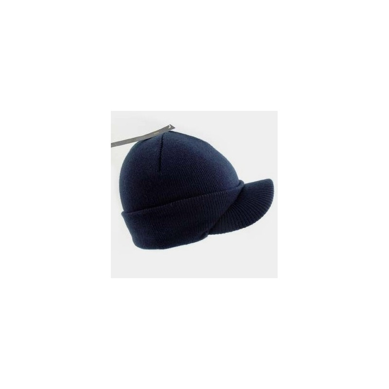 Beanie Hat - Knitted Peak Beannie Hat