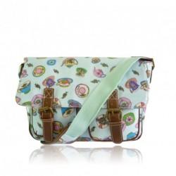 Messenger Bag - Tea Party - Anna Smith NY Messenger Bag