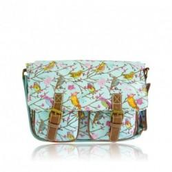 Messenger Bag - Little Birds - Anna Smith NY Messenger Bag