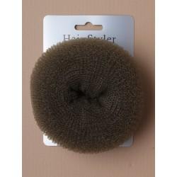 Bun Shaper - large size brown bun former. 105mm overall...