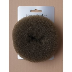 Bun Shaper - large size brown bun former. 105mm overall diameter by 45mm deep