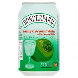 Wonderfarm Young Coconut Water 310ml Nước Dừa Tươi có Cơm...
