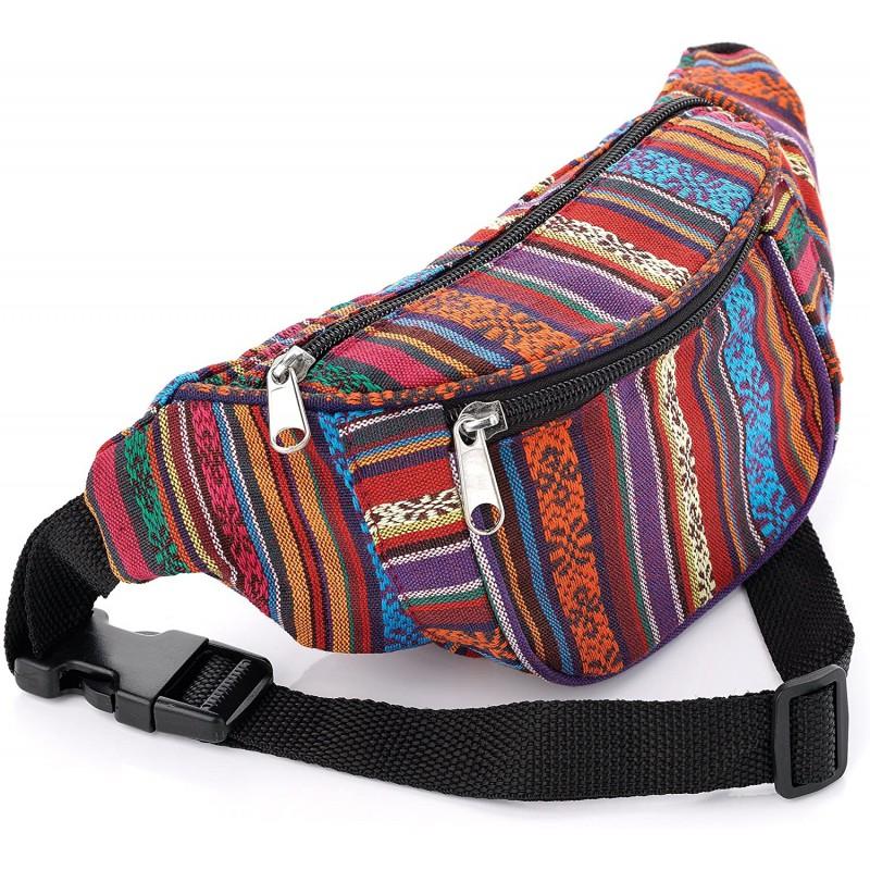 Bum Bag Tribal Festival print bum bag