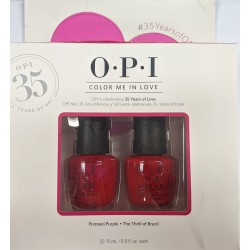OPI Color Me In Love Twin Pack Pompeii Purple & The...