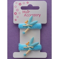 card of 2 pastel coloured flying fairy ponios. in...