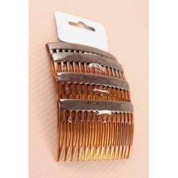 Hair Combs - Tortoise Shell Colour - 7cm hair combs -...