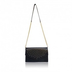 The Pimlico Studded Clutch Bag by LYDC