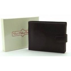 Real Italian Leather Wallet in brown or black