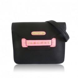 Anna Smith Iggy Handbag with envelope closure and...