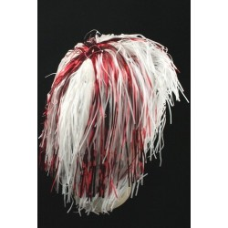 St George Cross England Tinsel Wig
